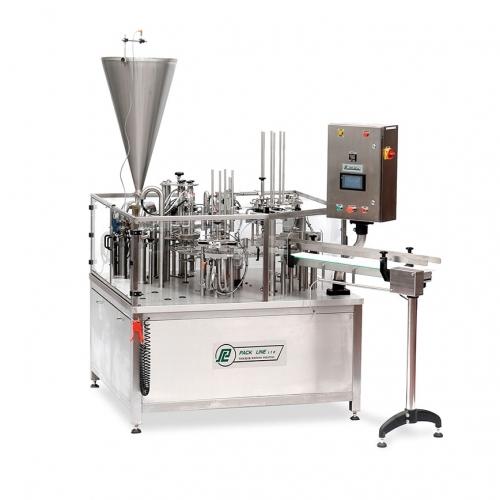 Автомат для расфасовки жидких и пастообразных продуктов модели NBM