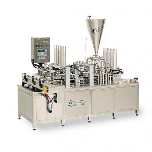 Автоматическая машина линейного типа для розлива в пластиковые стаканчики PXG