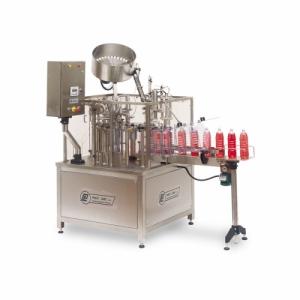 Автоматическая роторная машина для розлива и укупоривания бутылок PFM
