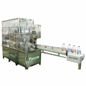 Автоматическая универсальная машина для розлива и укупоривания PLF-2000